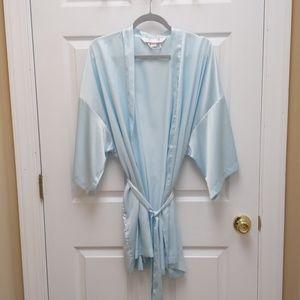silky Victoria's Secret robe